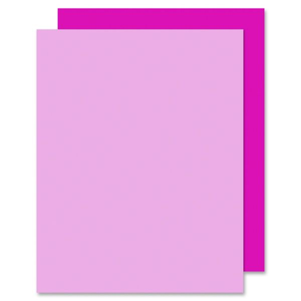 Eco Brites Too Cool Foam Board, 20x30, Fluorescent Pink/Pink, 5/Carton