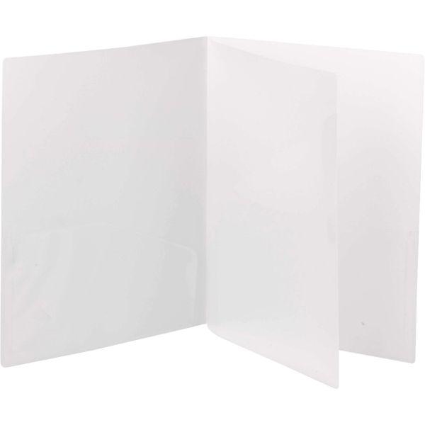 Smead Poly Four-Pocket Folder