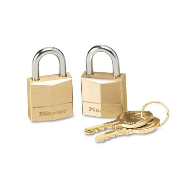 Master Lock Three-Pin Tumbler Locks