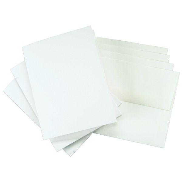 "Leader Greeting Cards & Envelopes 4.375""X5.75"" 25/Pkg"