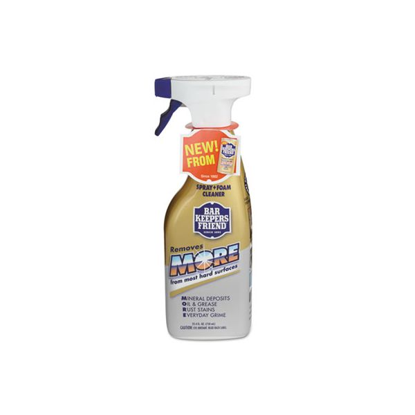 Bar Keepers Friend MORE Spray + Foam Cleaner