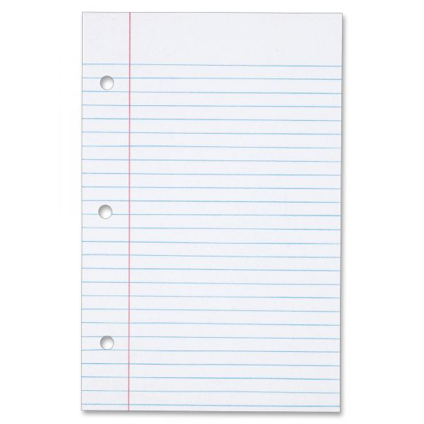 TOPS Heavyweight College Ruled Loose Leaf Paper