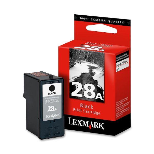 Lexmark #28A Black Ink Cartridge