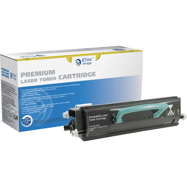 Elite Image Remanufactured Lexmark E250A11A Toner Cartridge