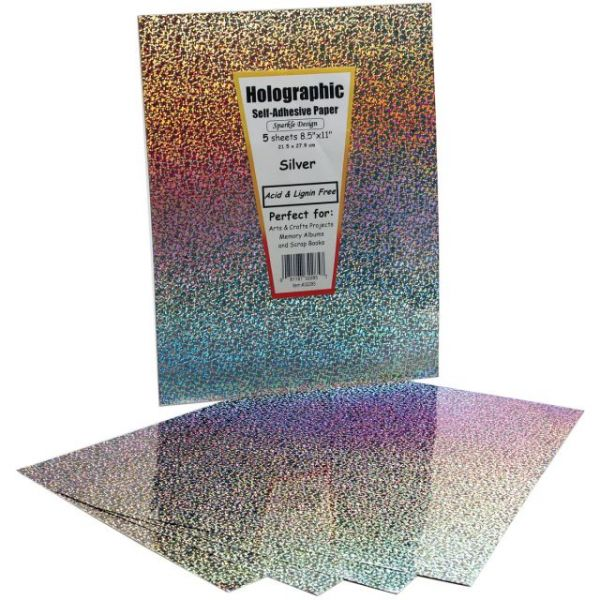Holographic Self-Adhesive Specialty Paper