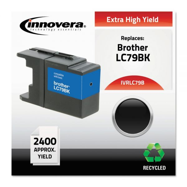 Innovera Remanufactured Brother LC79BK XXL Extra High-Yield Ink Cartridge