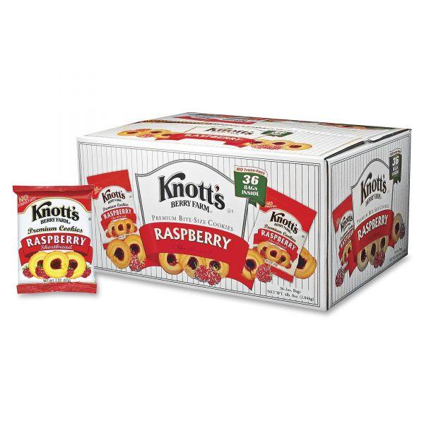 Knott's Berry Farm Premium Bite Size Shortbread Cookies