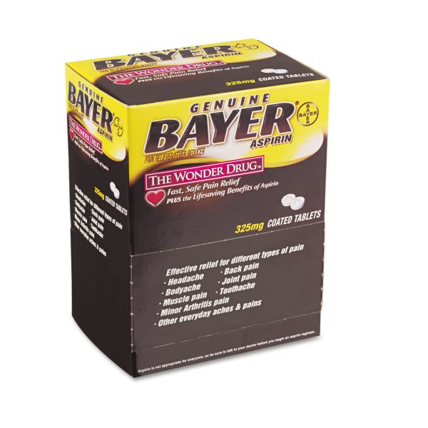 Bayer Aspirin Pain Reliever Tablets