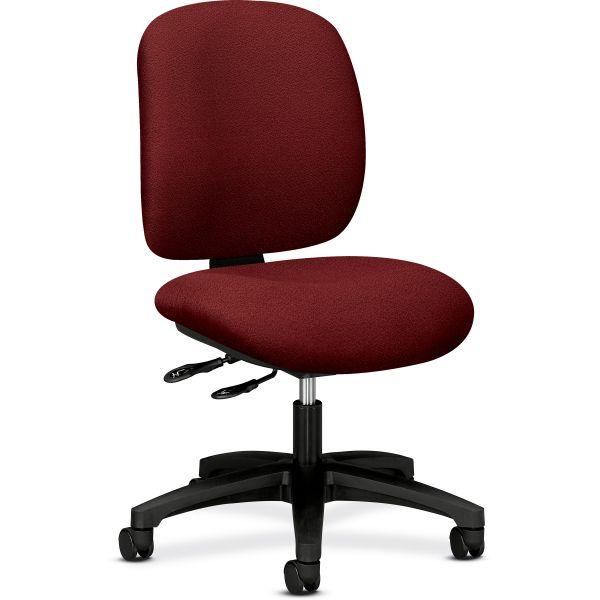 HON ComforTask Series Multi-Task Swivel/Tilt Chair, Burgundy