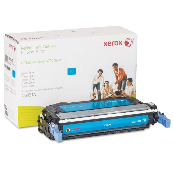 Xerox Remanufactured HP Q5951A Cyan Toner Cartridge