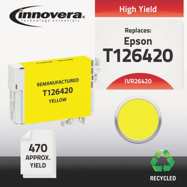 Innovera Remanufactured Epson 126 (T126420) Ink Cartridge