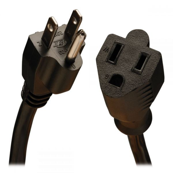Tripp Lite Power Cord Extension Cable Standard 16 AWG 5-15P 5-15R 13A 25'