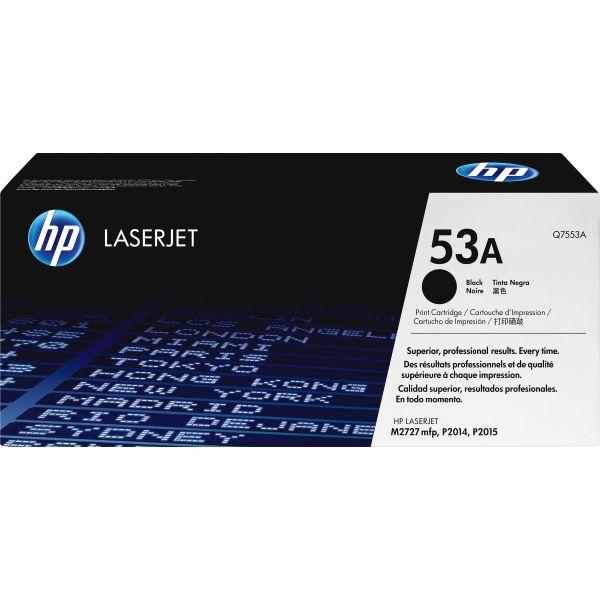 HP 53A Black Toner Cartridge (Q7553A)