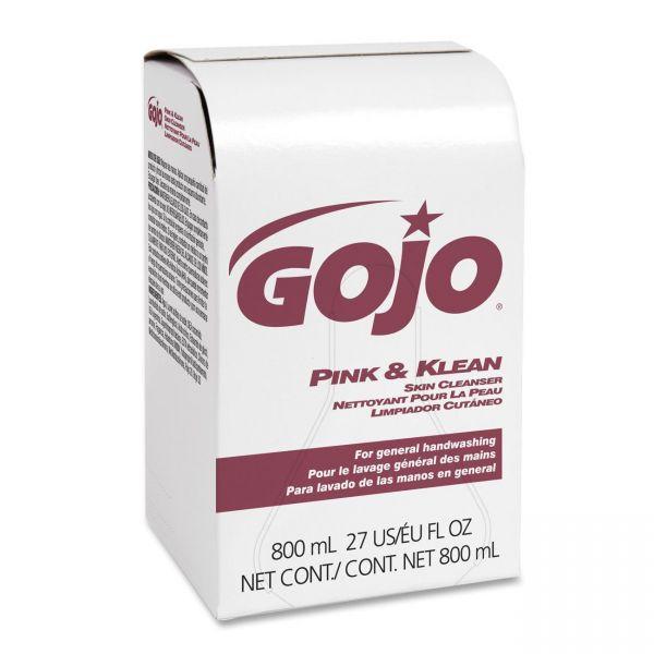 Gojo Pink & Klean Hand Soap Refills