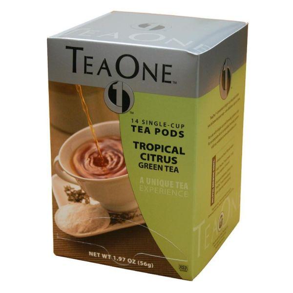 Tea One Single Cup Green Tea Pods