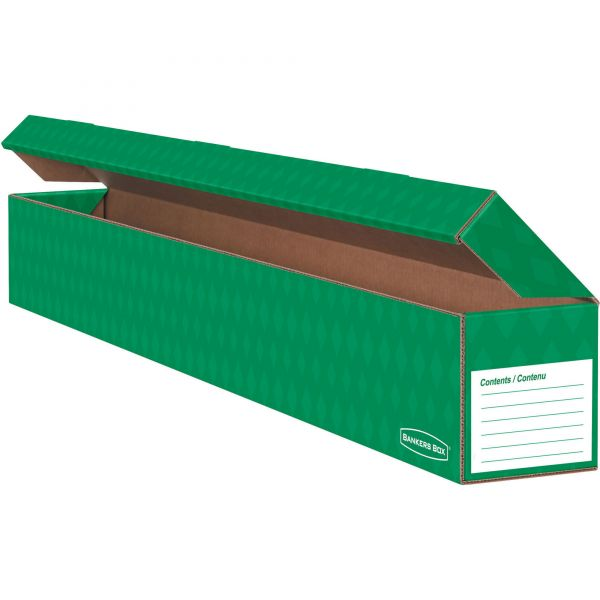 Bankers Box Trimmer Storage Box, Green