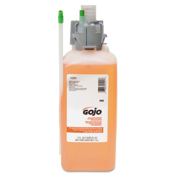 GOJO Luxury Foam Antibacterial Hand Soap Refills
