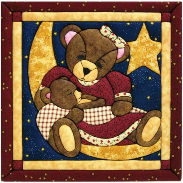 Momma & Baby Bear Quilt Magic Kit