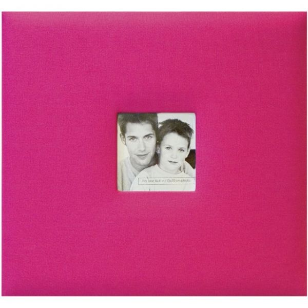 "Fashion Fabric Post Bound Album 12""X12"""