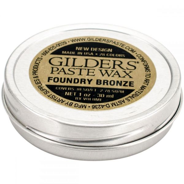 Baroque Art Foundry Bronze Gilders Paste