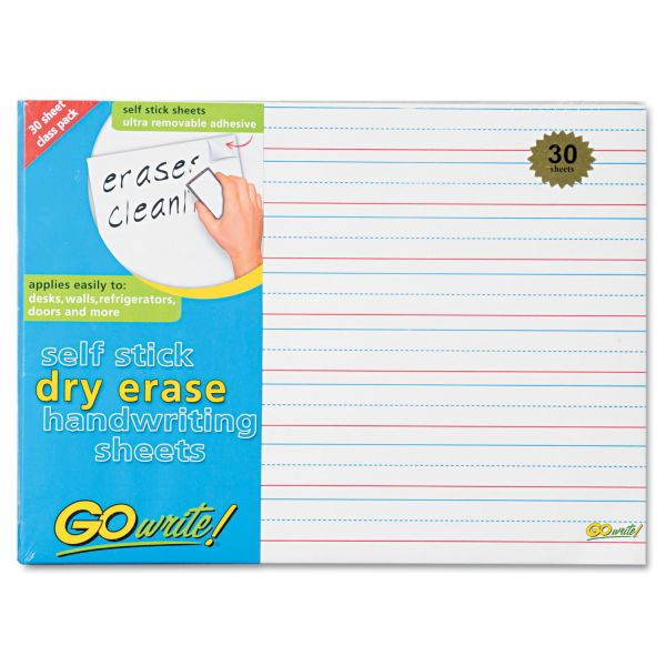 GoWrite! Dry Erase Handwriting Sheets