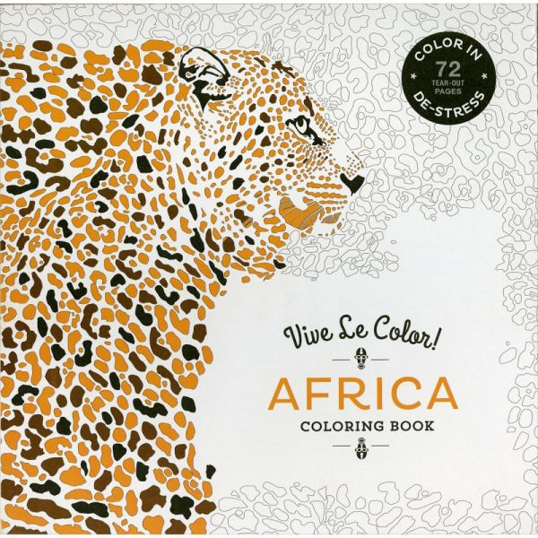 Abrams Books: Vive Le Color! Africa Coloring Book