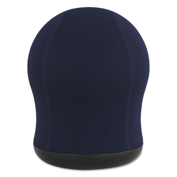 """Safco Zenergy Swivel Ball Chair, 17 1/2"""" Diameter x 23"""" High, Blue Mesh"""