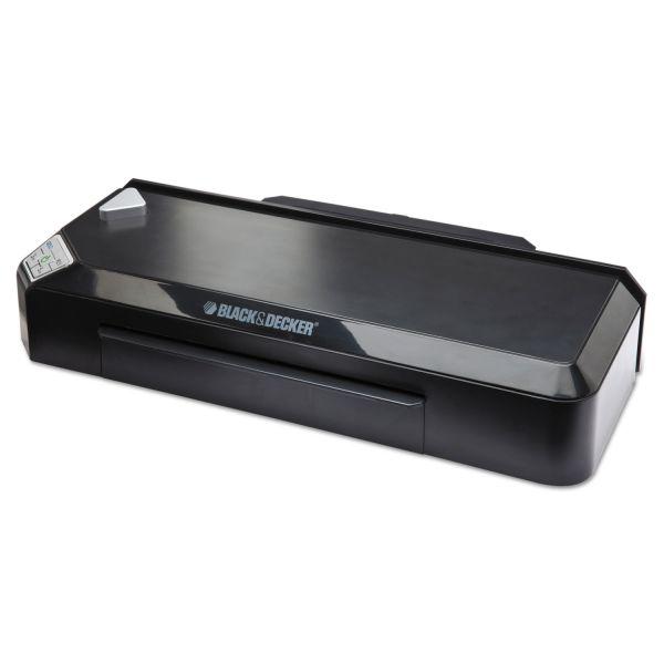 BLACK+DECKER Flash Pro Thermal Laminator, 9-1/2 x 5 Mil Maximum Document Thickness