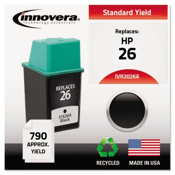 Innovera Remanufactured HP 26 Ink Cartridge