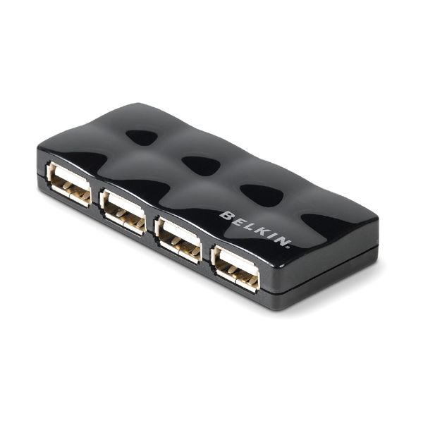 Belkin Hi-Speed 4-port USB 2.0 Mobile Hub
