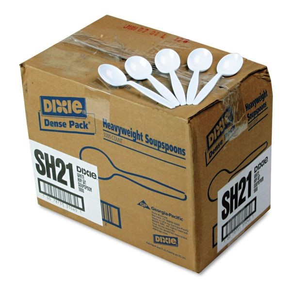 Dixie Shatter-Resistant Heavyweight Soup Spoons