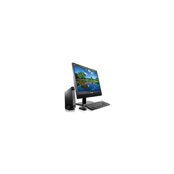 Lenovo ThinkCentre M700z 10EY000EUS All-in-One Computer - Intel Core i3 (6th Gen) i3-6100T 3.20 GHz - Desktop - Black