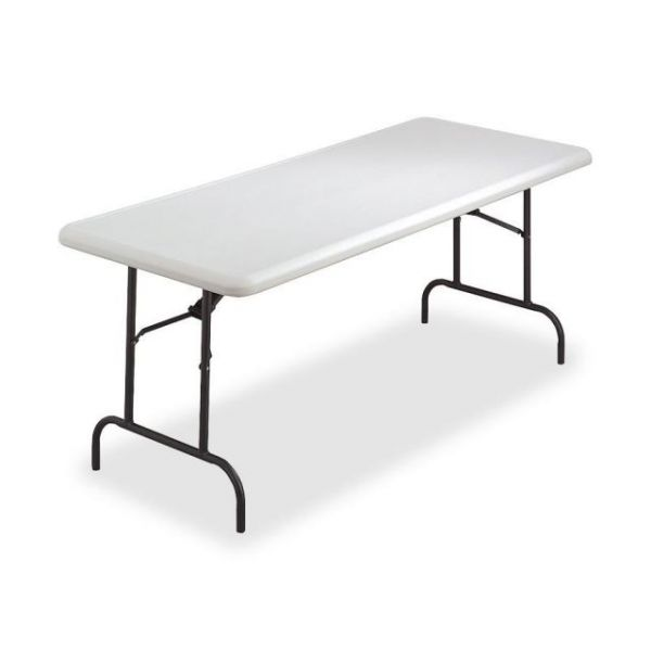 Lorell Ultra-Lite Rectangular Folding Table