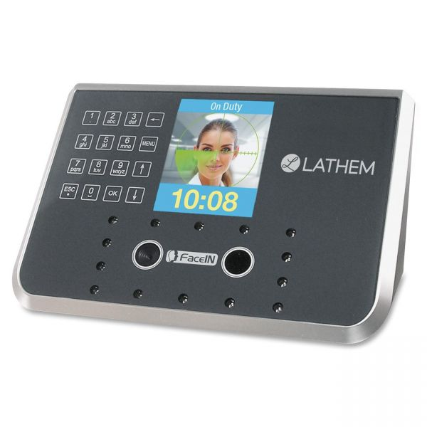 Lathem FR650 FaceIN PayClock Face Recognition System