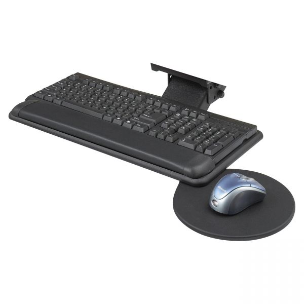 Safco Swivel Mouse Tray Adj. Keyboard Platform