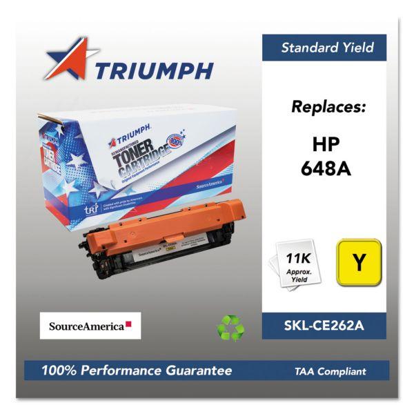 SKILCRAFT Remanufactured HP 648A (CE262A) Toner Cartridge