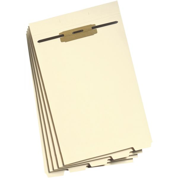 Smead 35650 Manila Folder Dividers with Fastener