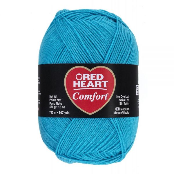 Red Heart Comfort Yarn - Turquoise