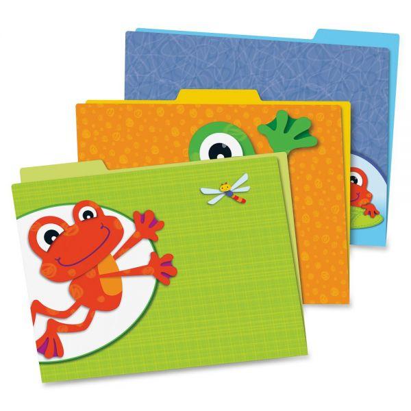 Carson-Dellosa FUNky Frogs File Folders Set