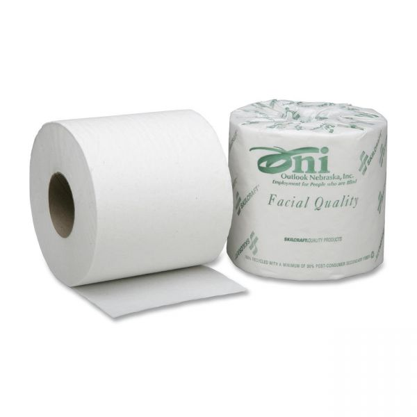 SKILCRAFT Facial Quality 2 Ply Toilet Paper