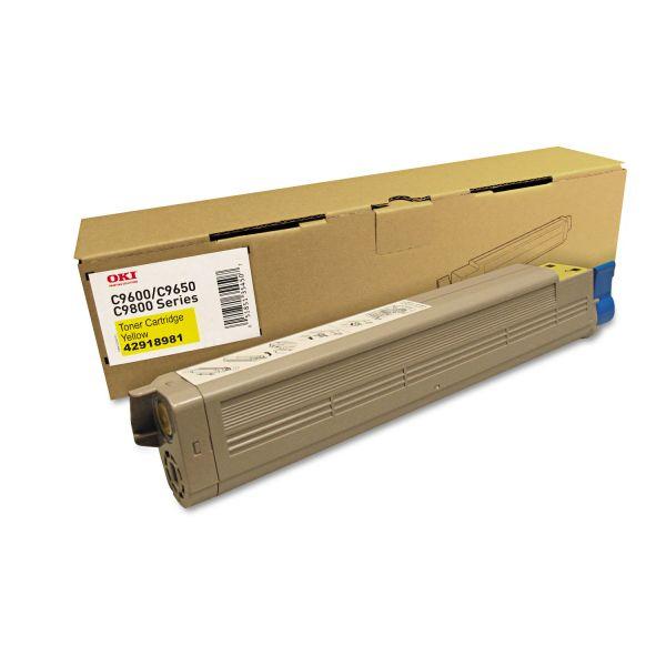 Oki 42918981 Yellow Toner Cartridge