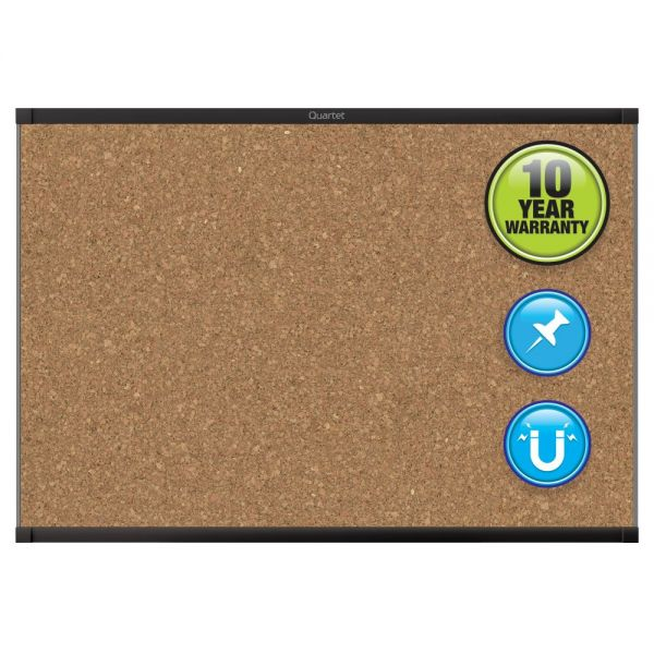 Quartet Prestige 2 Magnetic Cork Bulletin Board