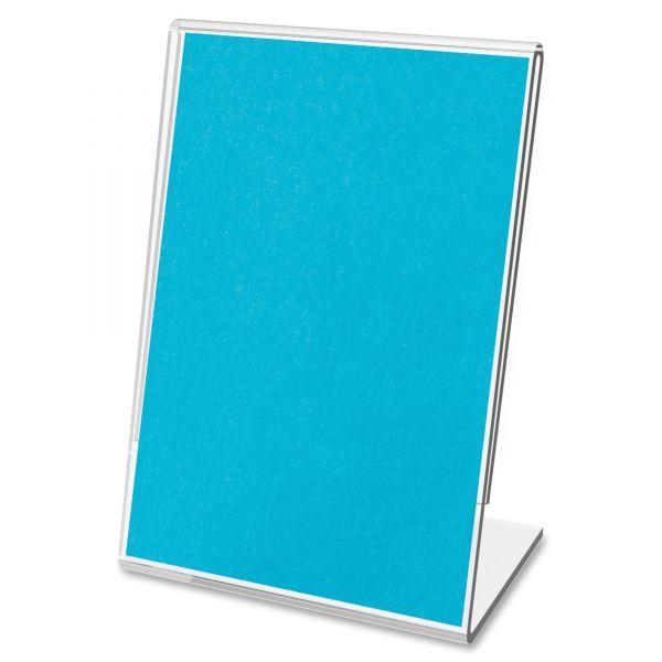 Deflect-o Mini Tabletop Sign Holders