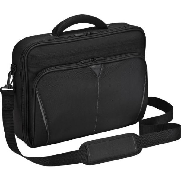 "Targus CN616US Carrying Case (Briefcase) for 16"" Notebook - Black, Red"