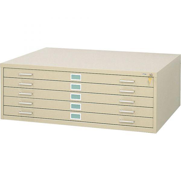 Safco 5-Drawer Steel Flat File
