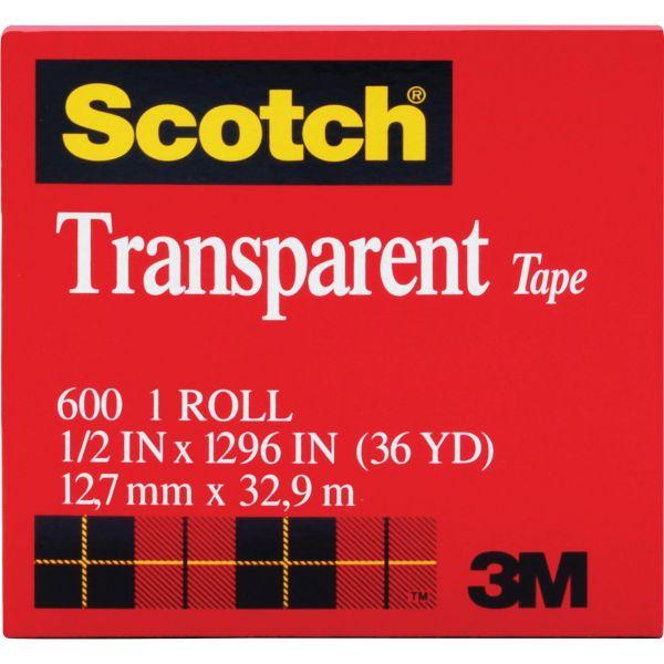 "Scotch 1/2"" Transparent Tape Refill"