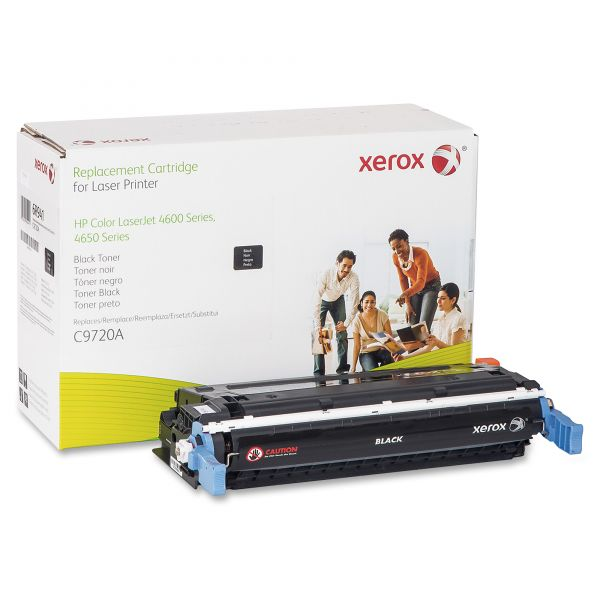 Xerox Remanufactured HP C9720A Black Toner Cartridge