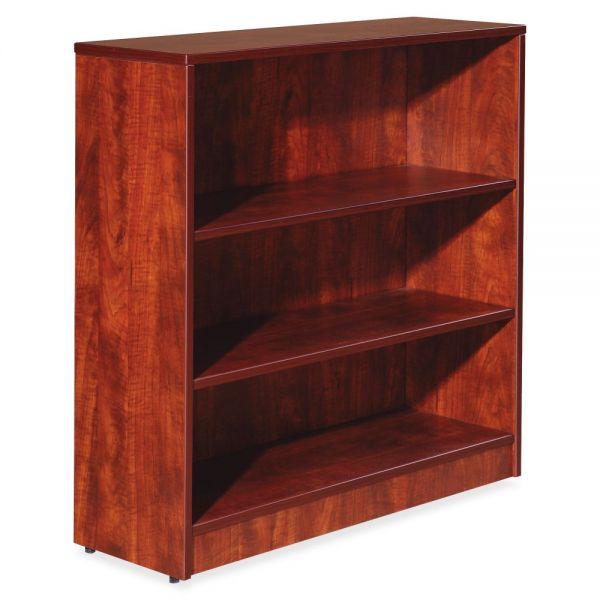 Lorell Essentials 3-Shelf Bookcase