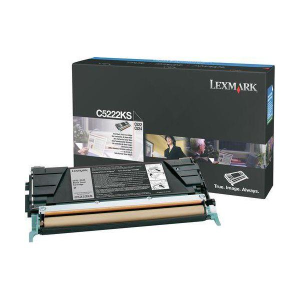 Lexmark C5222KS Black Toner Cartridge