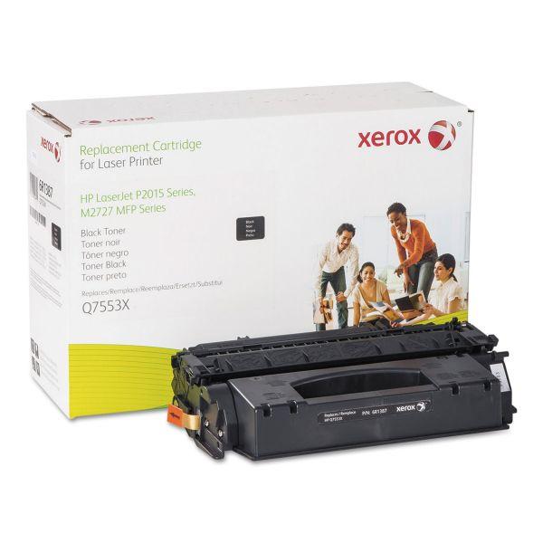 Xerox Remanufactured HP Q7553X Black Toner Cartridge